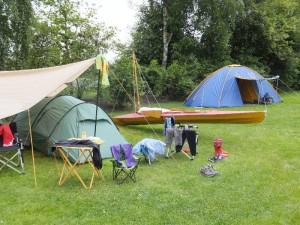 Zeltcamp am Dümmer See