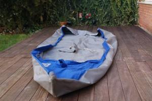 Außenhaut des Delphin 150 nach Renovierung