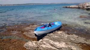 Pause auf der Insel Ceja