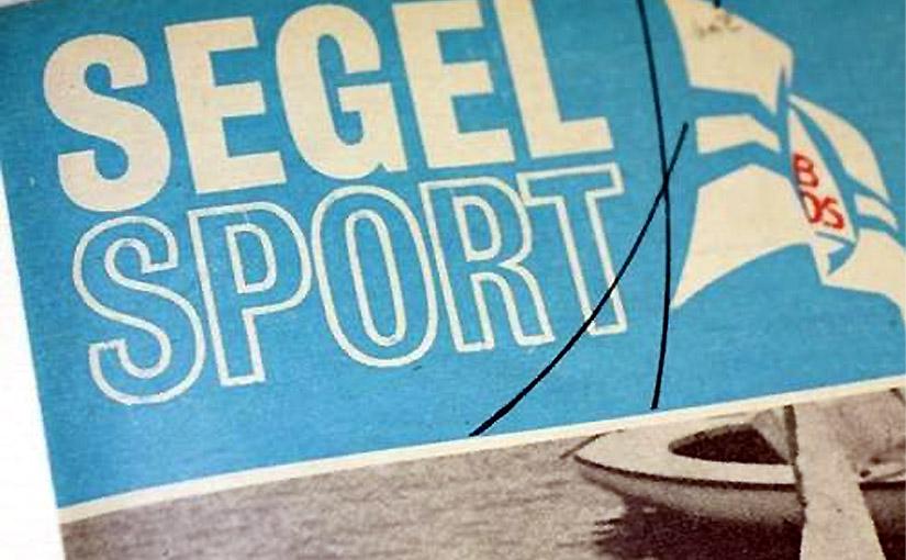 Seesegeln in der DDR: Ein Beispiel von 1964