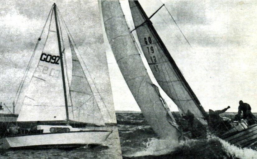 Internationale Ostseeregatta 1971: 'Schaukelpierd' rettet 'Insulaner'